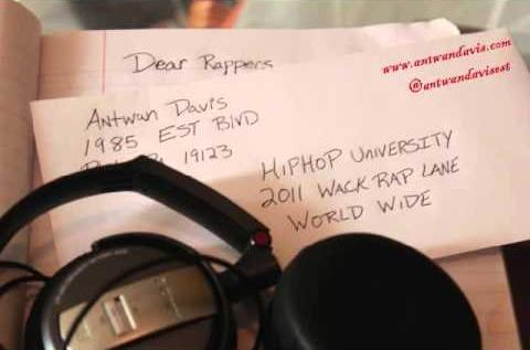 Antwan Davis – Dear Rappers (Dear Summer)