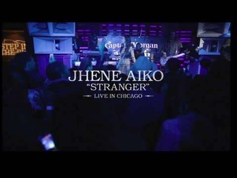 Jhene Aiko (@JheneAiko) – Stranger (Live In Chicago) [Video]
