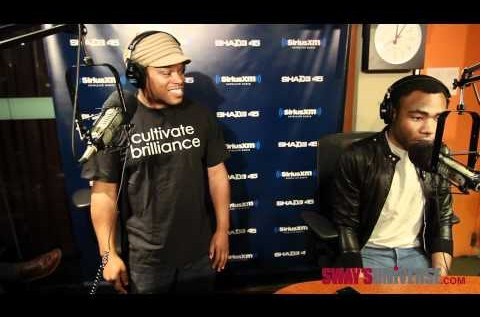 Childish Gambino (@DonaldGlover) x Sway (@RealSway) – 5 Fingers Of Death Freestyle [Video]