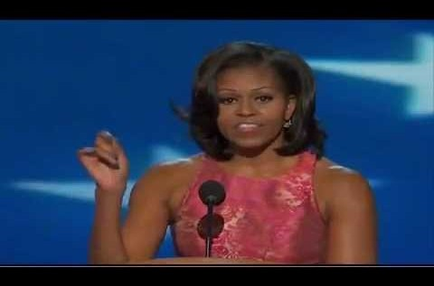 Michelle Obama's (@MichelleObama) DNC Speech [Full Video]