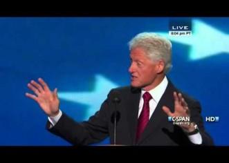 Bill Clinton's (@billclinton) 2012 DNC Speech [Full Video]