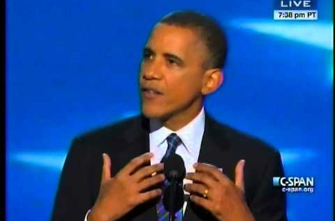 President Barack Obama (@BarackObama) Full DNC 2012 Speech [VIDEO]