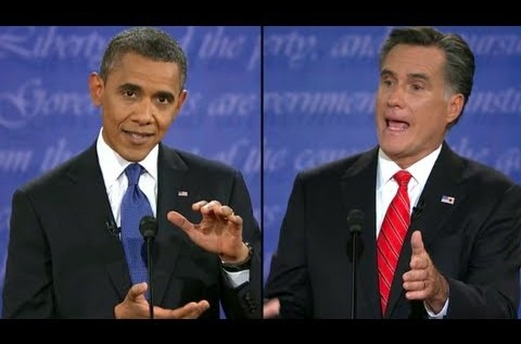 President @BarackObama Vs @MittRomney – First #PresidentialDebate2012 [Full Video]