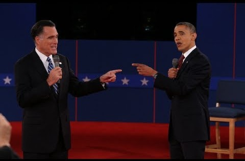 President @BarackObama Vs @MittRomney Second #PresidentialDebate2012 [Full Video]