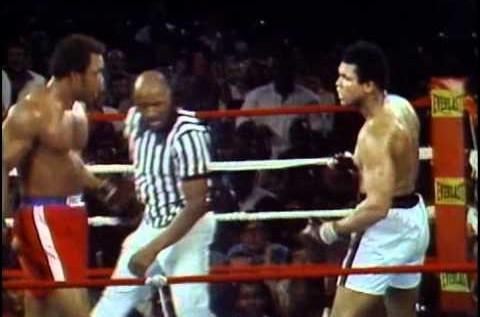 George Foreman Vs. Muhammad Ali – Oct. 30, 1974 [Video]