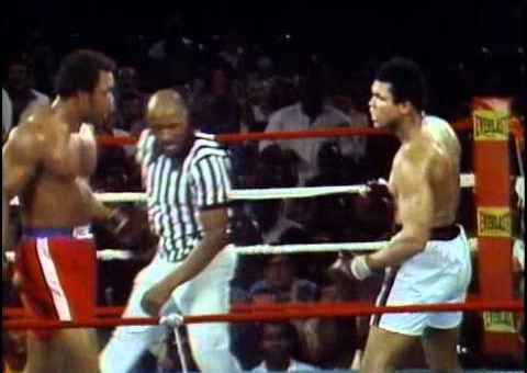 George Foreman Vs. Muhammad Ali – Oct. 30, 1974 [Video]