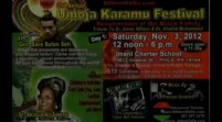[EVENT] Umoja Karamu Festival w/ General Sara Suten Seti Nov 3-4, 2012