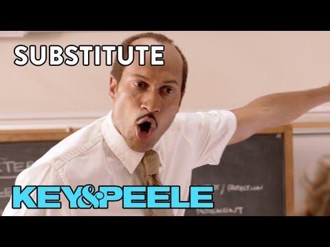 Key & Peele (@KeyandPeele) – Substitute Teacher 1 & 2 [Video]