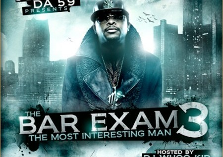 Royce Da 5′9″ – Bar Exam 3 (Mixtape)