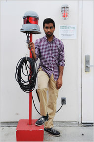 Aziz Ansari: Feeding the Comedy Beast Without Serving Leftovers