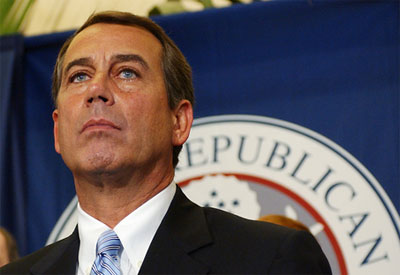 John Boehner Shows His True Colors: American People Will Pay for BP Clean-up
