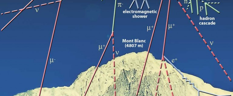 Antarctica Experiment Discovers Puzzling Space Ray Pattern