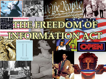 How To Get Informed: The Freedom Of Information Act (FOIA)