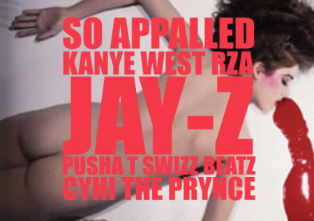 Kanye West ft. RZA, Jay-Z, Pusha T, Swizz Beatz &#038; CyHi Da Prynce  So Appalled