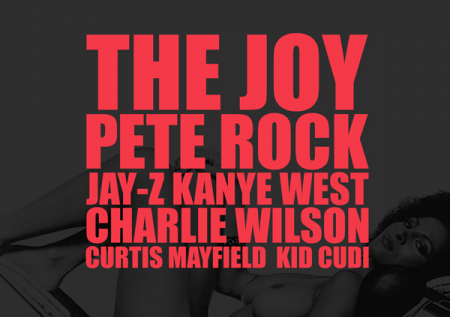 Kanye West ft. Pete Rock, Jay-Z, Charlie Wilson, Curtis Mayfield & KiD CuDi – The Joy