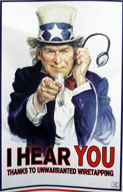 Police State of Wiretapping the Web: Who Do THEY Want to Watch?