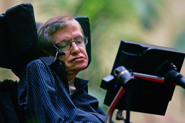 """Genius"" Stephen Hawking Says Afterlife Is A 'Fairy Story'"