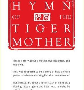 Tiger Mothers: Raising Children The Chinese Way