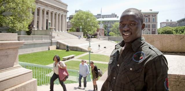 From African Refugee Camp To  The Ivy League