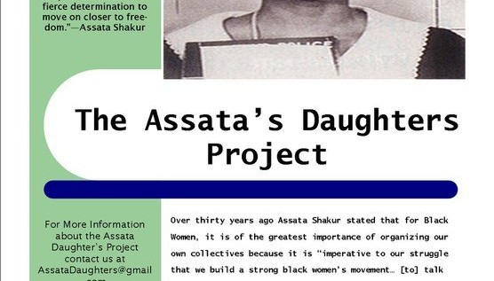 The Assata&#8217;s Daughters Project
