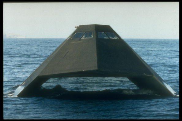 U.S. Navy Scraps 'Sea Shadow'