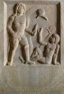 Roman Gladiator's Gravestone Describes Fatal Foul