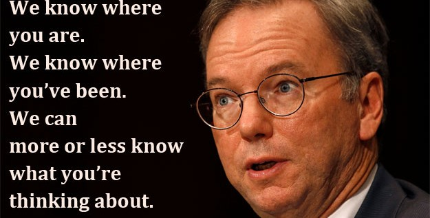 Eric Schmidt Sells Half Of His Google Stock… Enron Much?