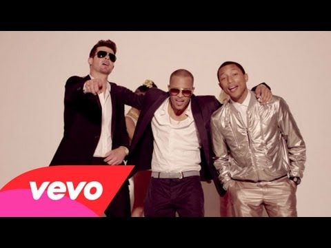 Robin Thicke (@RobinThicke) – #BlurredLines Feat T.I. (@Tip) & Pharrell (@Pharrell)