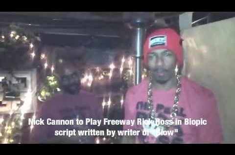 "Drug Kingpin ""Freeway"" Rick Ross To Be Played by Nick Cannon [Video]"