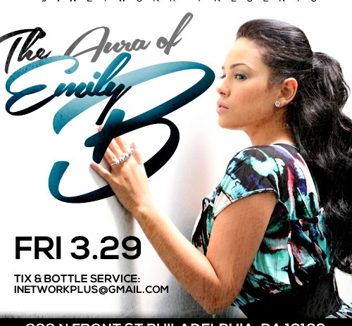 [EVENT] #iNetwork Presents #EmilyBWeekend @AuraPHL Fri March 29 & Sat Mar 30!