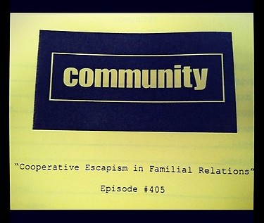 Community Season 4, Episode 5 – Cooperative Escapism In Familial Relations [Full Video]