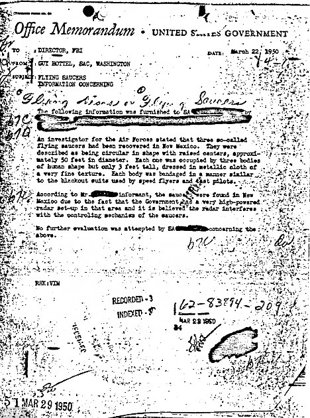 FBI UFO Memo Causes Uproar… Again