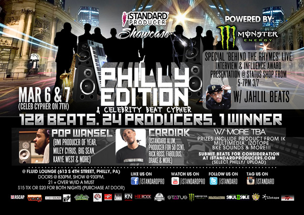 [EVENT] Philly Style @iStandard Producer Showcase  March 6th &#038; 7th 2013 @FluidPhilly