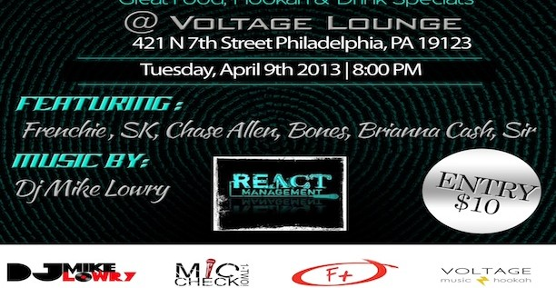 [EVENT] React Co (@ReactCo) Presents: #TheReactProject Tues 4/9/13 @Voltage_Lounge