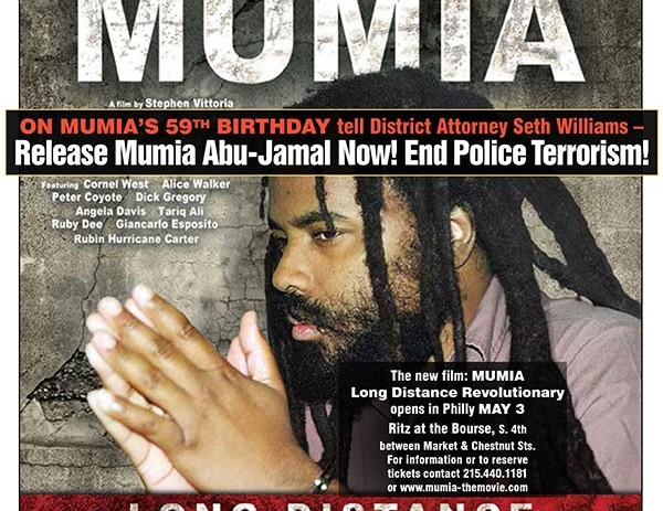 Spread The Word for Rally to Free Mumia Abu Jamal April 24 in Philly