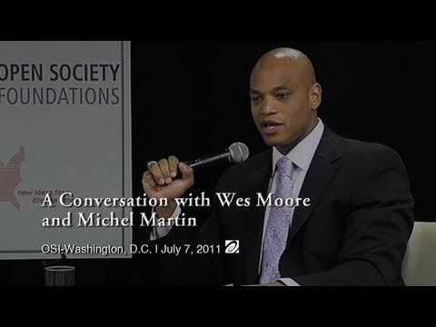 A Conversation with Wes Moore and Michel Martin (Full Video)