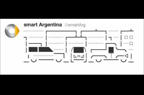 Smart Car Argentina's (@smartarg) AWESOME Twitter Commercial [Video]