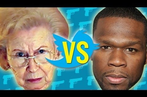 Grandma Reads 50 Cent's Tweets
