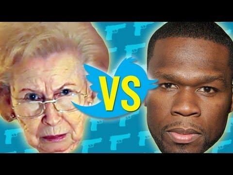 Grandma Reads 50 Cent's Tweets
