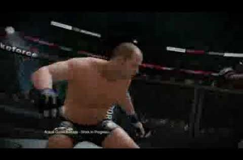 Impressions from a n00b on EA MMA video game