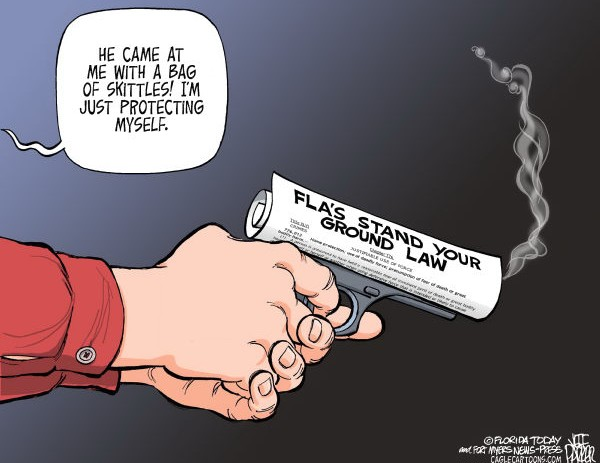 Political Cartoons On The #TrayvonMartin Situation