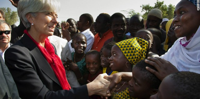 Finally: IMF Chief Calls For Job Creation In Africa
