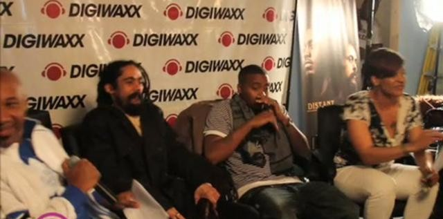 Nas & Damian Marley – Distant Relatives Music Meeting at Digiwaxx (Video)