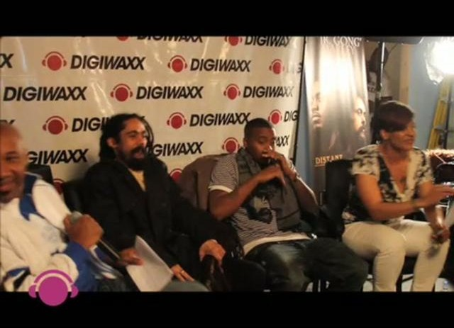 Nas &#038; Damian Marley &#8211; Distant Relatives Music Meeting at Digiwaxx (Video)