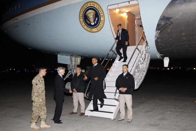 "Inside Report: President @BarackObama 's ""Secret"" Trip to Afghanistan"