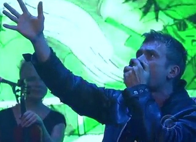 Gorillaz – Rhinestone Eyes (David Letterman Live)