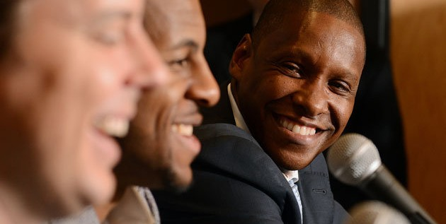Masai Ujiri wins the NBA's Executive of The Year Award