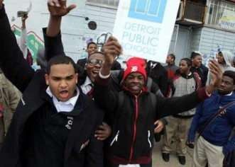 50 Black Young Men Who Wanted To Improve Their Education Are Suspended