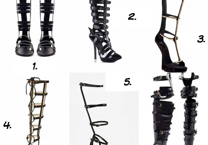 Get the Look! Gladiator Sandals (By: @MissKiaDenise)