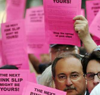 Philadelphia School District Handed Out 260 Employee Pink Slips Today